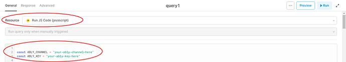 run js code